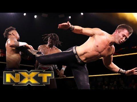 "Lio Rush vs. Tyler Breeze vs. Isaiah ""Swerve"" Scott: WWE NXT, Jan. 15, 2020"