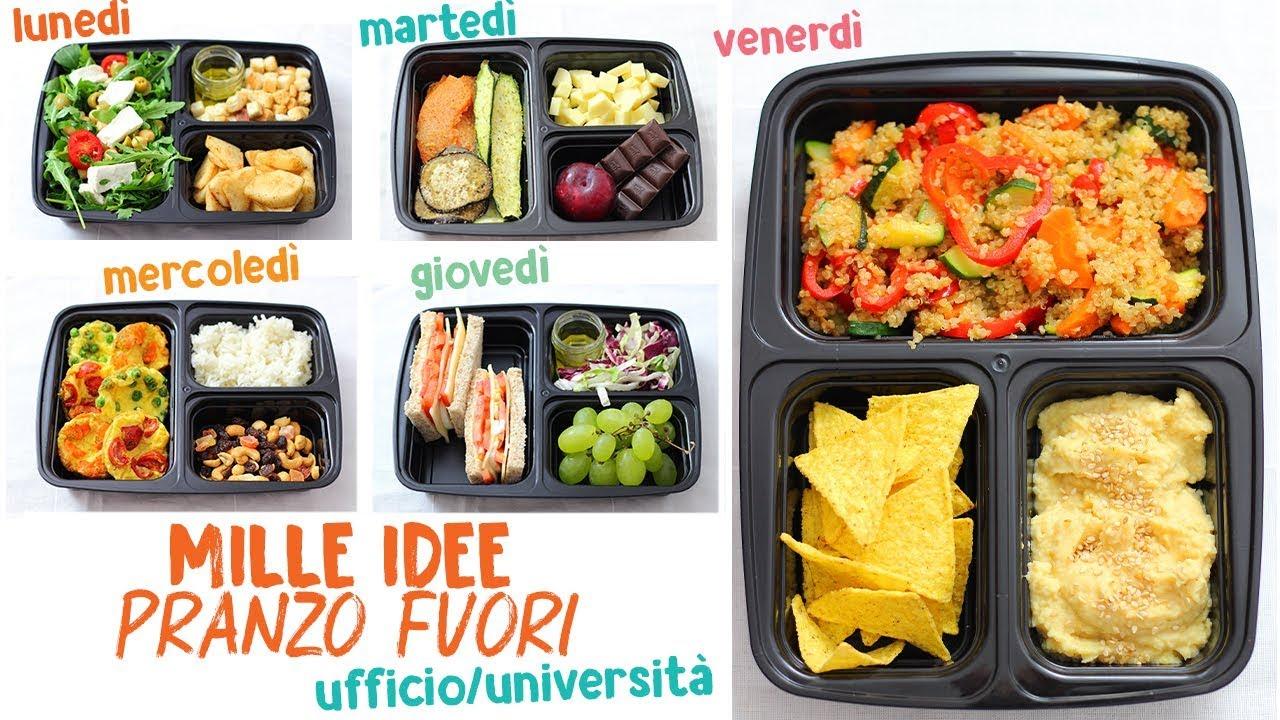 Piatti Freddi Veloci Da Asporto mille idee pranzo fuori - ufficio / università - ricette facili - menù  settimanale