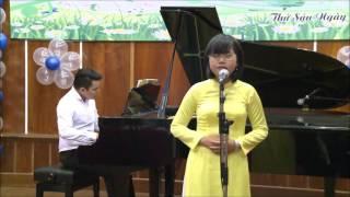 Đơn ca: Mẹ Yêu Con | Biểu diễn: VŨ HẢI VÂN - Đệm Piano: GV QUANG MINH