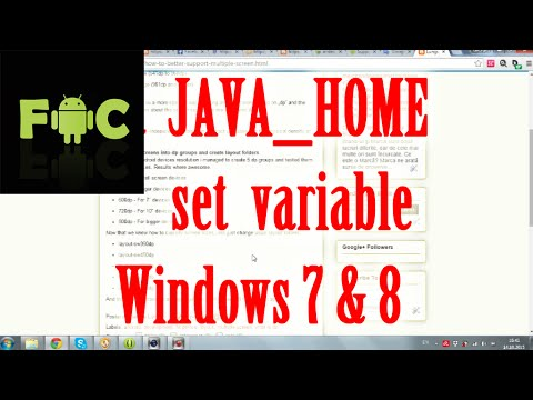 Solved: set JAVA_HOME variable, Android Studio doesn't find JDK