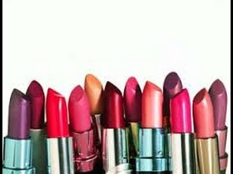 different types of lipstick finishes - YouTube