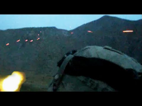 FIREFIGHT WITH TALIBAN IN MOUNTAINS