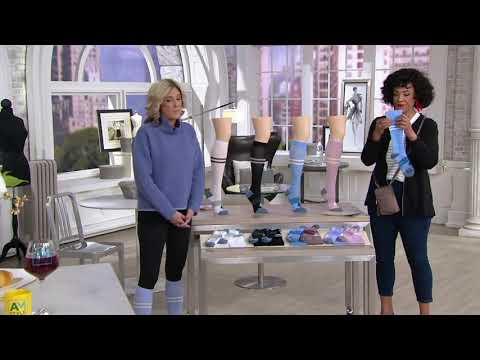 Bombas Set of 2 Compression Socks on QVC