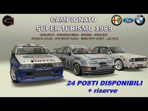 Assetto Corsa - Campionato Superturismo 1989 - Jerez