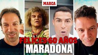Maradona cumple 60 años: el fútbol y la música le felicitan I MARCA