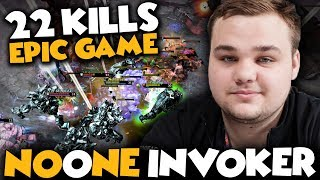 NoOne Invoker 22 Kills Almost Win The Game If He Has A Better Carry Hero - Dota 2 Invoker