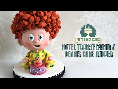Hotel Transylvania 2 Dennis cake topper Collaboration video