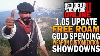 Update 1.05 Free Roam, Showdowns & Troll Hunting Red Dead Redemption 2 Online Beta [RDR2] Video