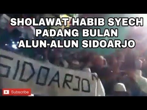 Habib syech - Padang bulan live alun - alun sidoarjo 2017