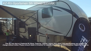 KZ-RV-Sportsmen 5th Wheel-S231RK