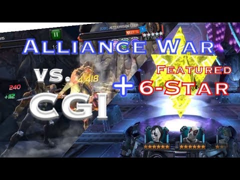 AW: [VNese] vs. [CGI] Path 6+ Morningstar Boss- Marvel Contest of Champions