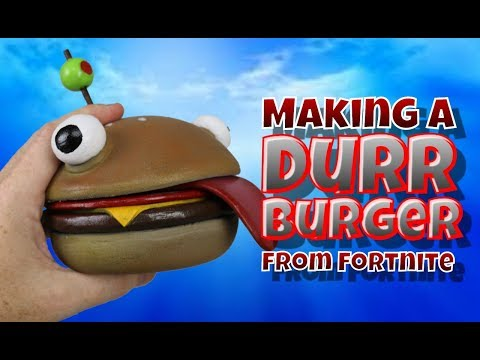 Making A Durr Burger From Fortnite