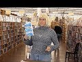 "Janet Kuypers reads her ""Twitterati"" poems @ her Half Price Books feature reading 11/1/17 (L)."