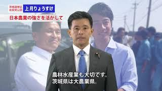 【茨城県・上月りょうすけ】茨城と日本の未来を創る