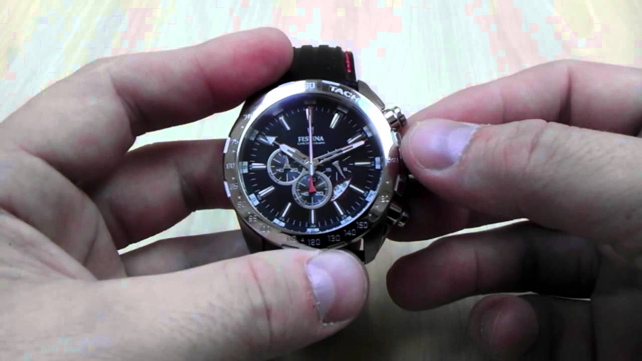 6242084a0 FESTINA Chrono Dual Time 16489/5 - YouTube