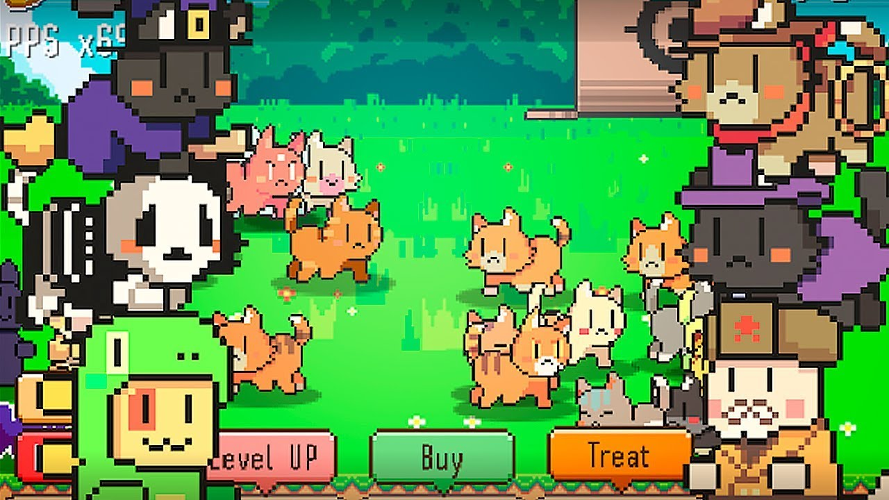 Kitty Cute Cats Clicker Cat Collector Gameplay Youtube