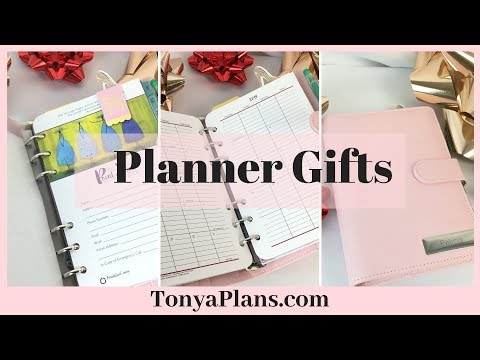 How to make planner gifts - Agenda 52 Paper Studio Inserts, Her Point of View Monthly, Macaron