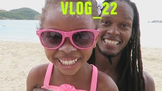 Legs Workout | Family Beach Day