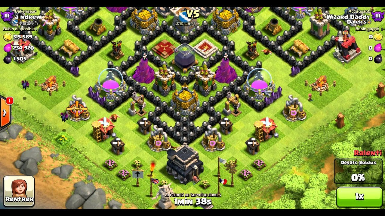 Clash of clans coc town hall 9 th9 farming base youtube