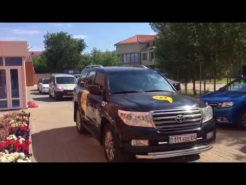 Yandex taxi в Актобе