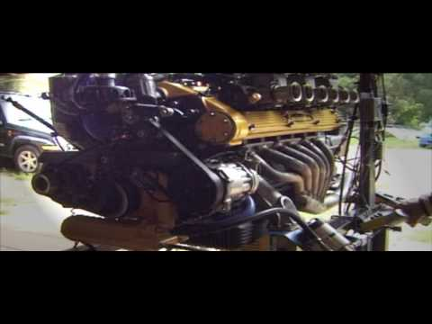 Lamborghini Espada S3 V12 Engine Reborn Youtube