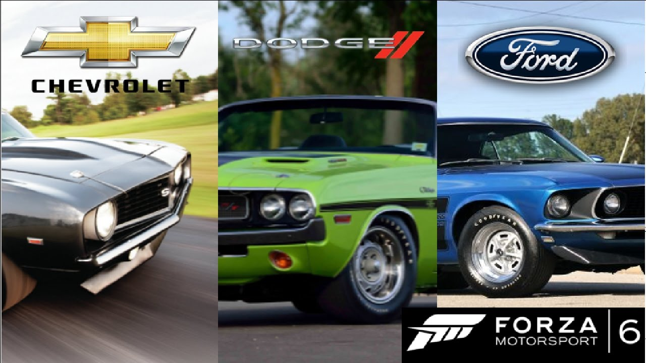 The Fastest Classic Muscle car: Mustang vs. Camaro vs. Challenger ...