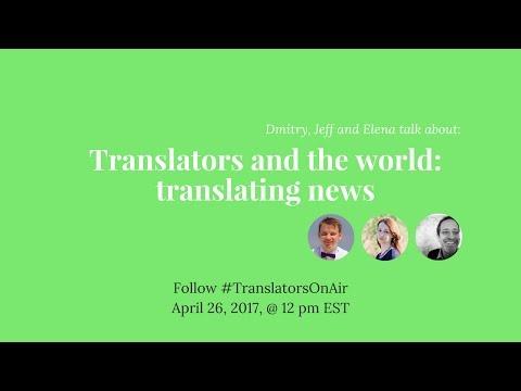#TranslatorsOnAir Translators and the world translating news feat  @jeffisraely