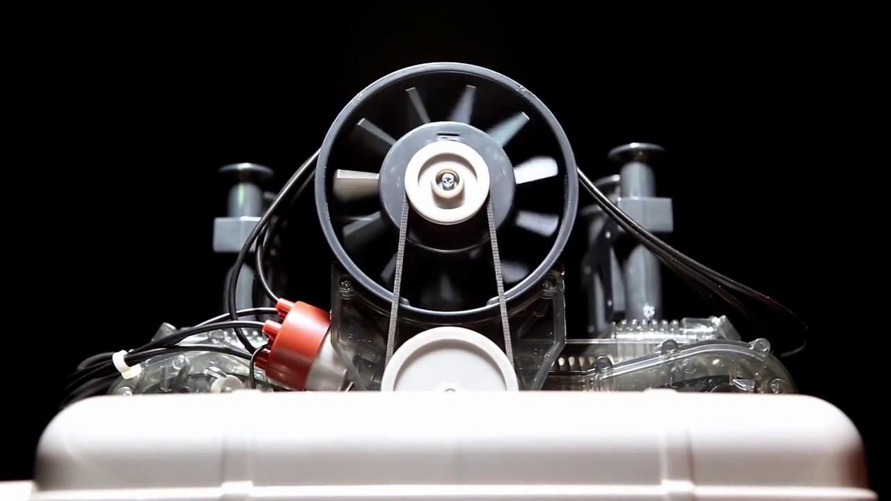 Flat Six Fanatics 6 Cylinder Porsche 911 Model Engine Kit 1 4