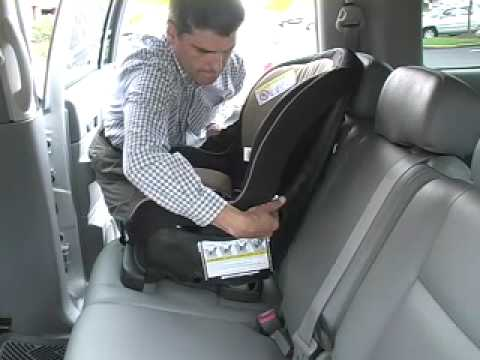 Car Seat Installation Evenflo Titan 5 Front Facing