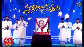 Singer's Musical Tribute to SP Balasubrahmanyam | Swarabhishekam | 3rd January 2021 | ETV Telugu