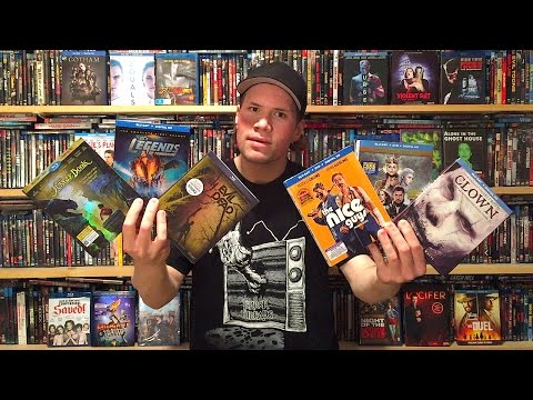 My Blu-ray Collection Update 8/20/16 : Blu ray and Dvd Movie Reviews