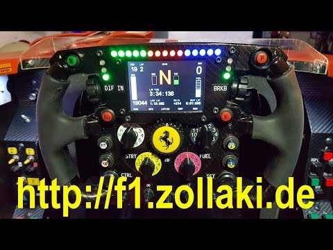 Thrustmaster F1 Wheel Mod Template v1 0 powered    - With Loop