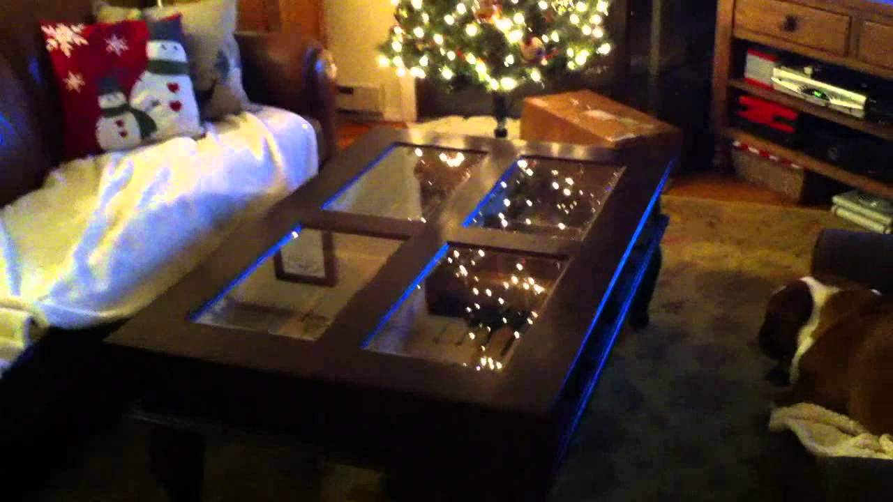 2012 Christmas Birthday Unboxing Info Humidor Coffee Table