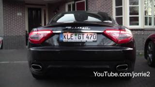 Maserati GranTurismo S Sound!! - 1080p HD(FB: http://www.facebook.com/Jorrie2YT & http://www.facebook.com/jorrik.aben You allready have seen the video of the Alfa Romeo 8C Competizione next to the ..., 2010-04-13T17:28:11.000Z)
