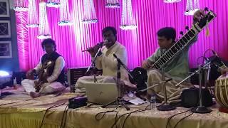 Folk Music on Sitar Flute & Violin in Kothrud - Part 2