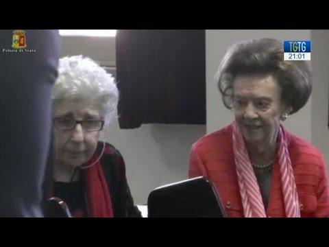 90 anni in Questura
