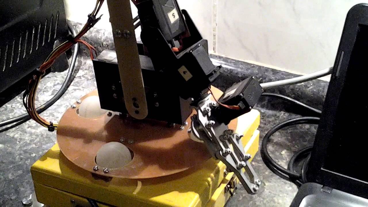 Brazo robot con arduino uno parte youtube