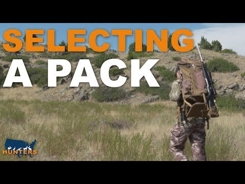 SELECTING A HUNTING BACKPACK | Hunters Connect