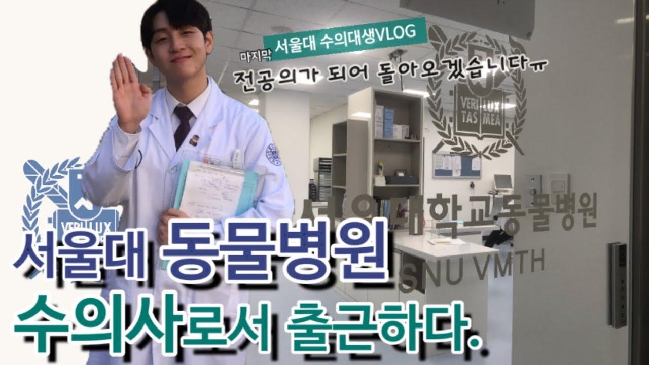 베토리의 🐕수의사로서의 첫 걸음🐈  서울대 동물병원 수의사 OT  멋진 수의사가 되어서 곧...돌아오겠습니다. 감사합니다.