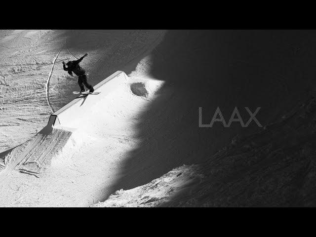 snowboarding LAAX