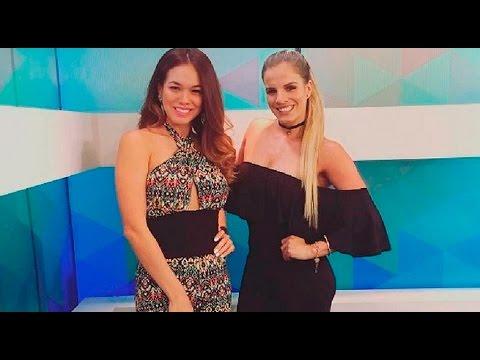 Jazmín Pinedo y Alejandra Baigorria se reencontraron y esto pasó