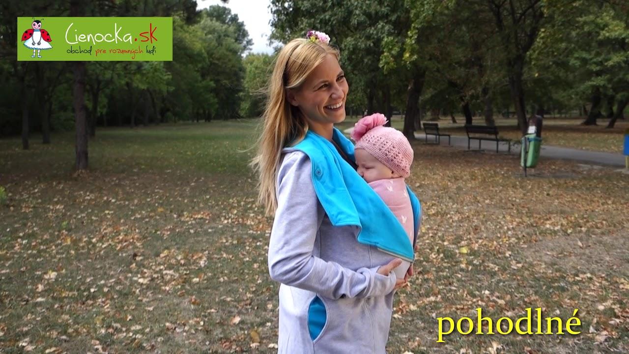 01c77f15c646 Lienočka - Oblečenie pre nosenie detí - YouTube
