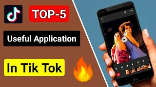 Download Top 5 Useful Application in Tik Tok🔥