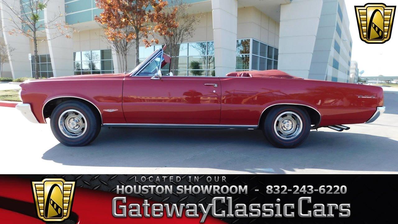 Pontiac Gto Convertible Stock Gateway Classic Cars