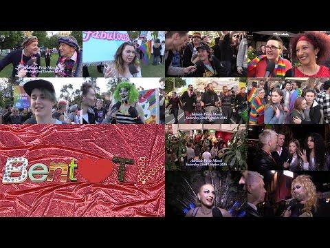 Bent TV: Queer Idea - Adelaide Feast Pride March - Preparation, March, Party - 04NOV16