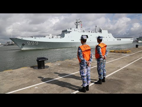 China establishes first overseas military base