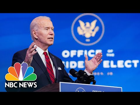 Biden Will Instruct FEMA To Establish 'Thousands' Of Covid Vaccination Centers | NBC News NOW