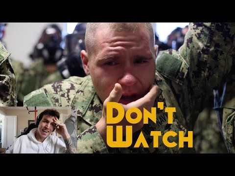 The Navy Bootcamp footage they don't want you to see - RTC Great Lakes