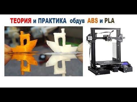 Обдув детали в 3D печати, ТЕОРИЯ и ПРАКТИКА обдува ABS и PLA