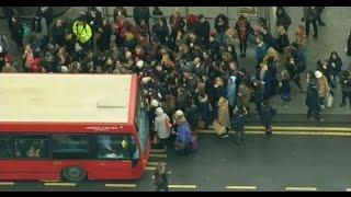 اضراب في عاصمة الضباب.. لندن تختنق بوسائل التنقل